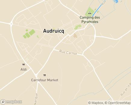 Localisation ADMR d'Oye Plage - 62370 - Audruicq