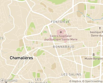 Localisation Centre de Rééducation Fonctionnelle Notre-Dame - 63407 - Chamalières