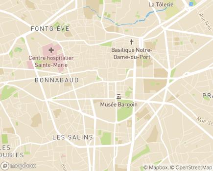 Localisation Centre Communal d'Action Sociale - 63013 - Clermont-Ferrand
