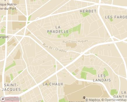 Localisation Institut Médico-Pédagogique Clairfontaine - 63000 - Clermont-Ferrand