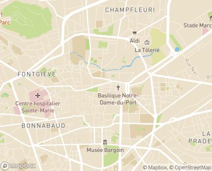 Localisation EHPAD La Sainte-Famille Association La Vie - 63000 - Clermont-Ferrand