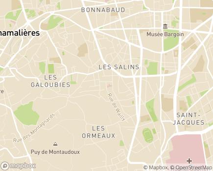 Localisation EHPAD Résidence Rénouard - 63000 - Clermont-Ferrand