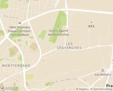 Localisation AIRRA Santé - 63100 - Clermont-Ferrand