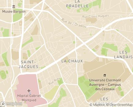 Localisation Novavie Clermont-Ferrand - 63000 - Clermont-Ferrand