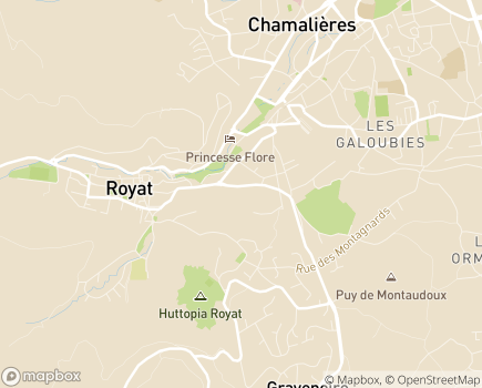 Localisation EHPAD Résidence Anatole France - 63130 - Royat