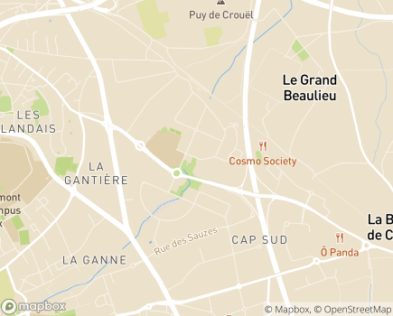 Localisation URSSAF Auvergne - 63054 - Clermont-Ferrand