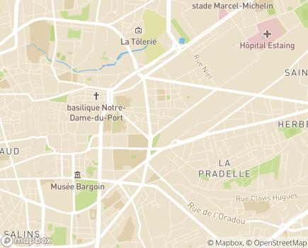 Localisation Union des Mutuelles - 63000 - Clermont-Ferrand