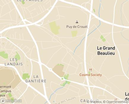 Localisation Mutualité Sociale Agricole Auvergne - 63972 - Clermont-Ferrand