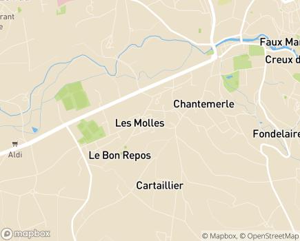Localisation CLIC de Thiers - 63300 - Thiers