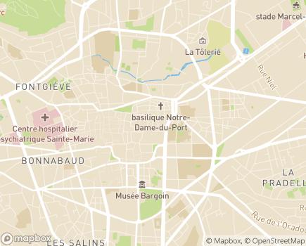 Localisation ALTERIS SESSAD Farandole - 63000 - Clermont-Ferrand