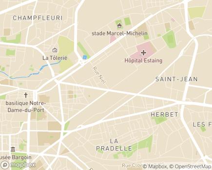 Localisation Institut Médico-Éducatif ALTERIS SAFI Farandole - 63100 - Clermont-Ferrand