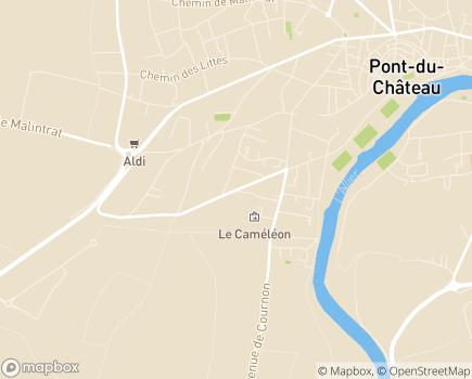 Localisation Résidence Les Rives d'Allier - 63430 - Pont-du-Château