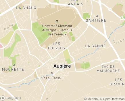 Localisation Association Malades et Handicapés - Matériel Médical - 63170 - Aubière