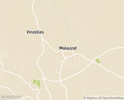 Localisation Aide Médicale Parapharm 63 - 63200 - Malauzat