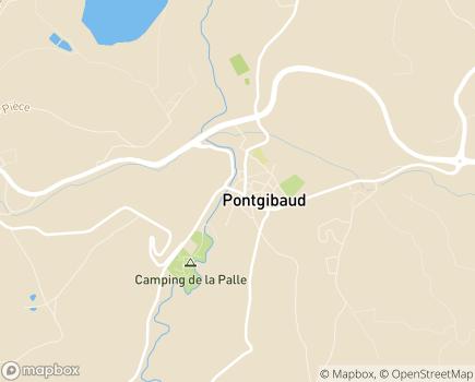 Localisation Centre Intercommunal d'Action Sociale Pontgibaud Sioule et Volcans - 63230 - Pontgibaud