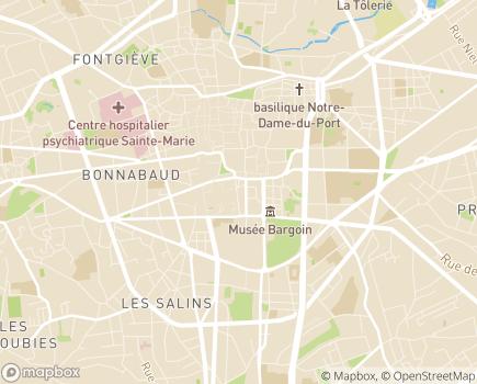 Localisation Service de Soins Infirmiers à Domicile - 63000 - Clermont-Ferrand
