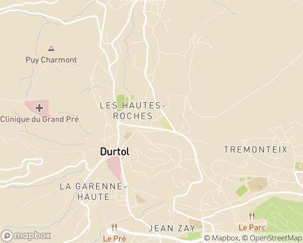 Localisation Résidence Services Le Mas des Oliviers - SAS Quiedom 63 - 63830 - Durtol