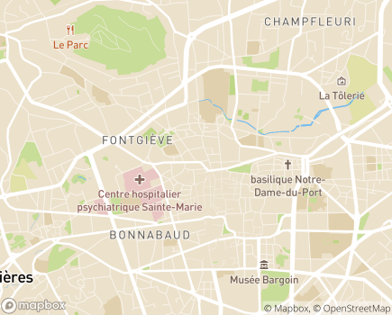 Localisation Barot Conseil - 63000 - Clermont-Ferrand