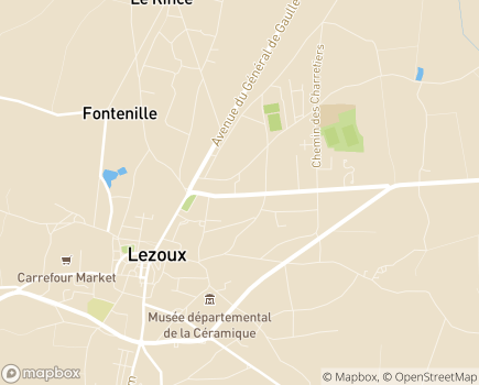 Localisation ADMR Association Locale - 63190 - Lezoux