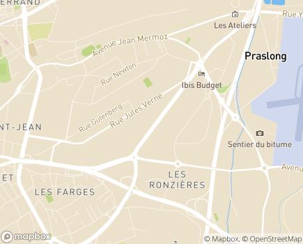 Localisation Korian Hospitalisation à Domicile Clermont-Ferrand - 63100 - Clermont-Ferrand