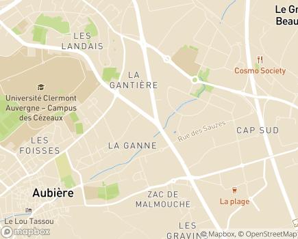 Localisation AIRRA Confort - 63170 - Aubière