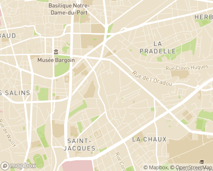 Localisation La Compagnie de Louis - 63000 - Clermont-Ferrand
