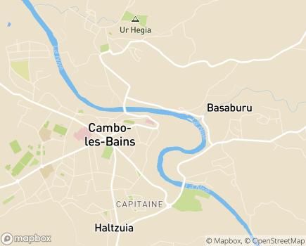 Localisation Centre Médical Cardio-Respiratoire Toki Eder - 64250 - Cambo-les-Bains