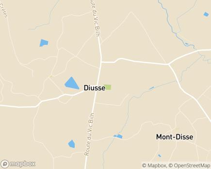 Localisation ESAT Etablissement et Service d'Aide par le Travail - 64330 - Diusse
