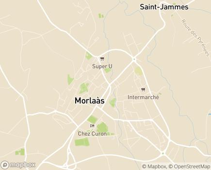 Localisation Résidence L'Arrayade - Résidence Autonomie - 64160 - Morlaàs