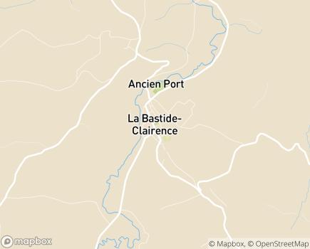 Localisation SSIAD des 3 Vallées - 64240 - La Bastide-Clairence