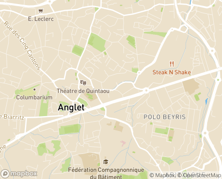 Localisation SNC Belle Fontaine - 64600 - Anglet