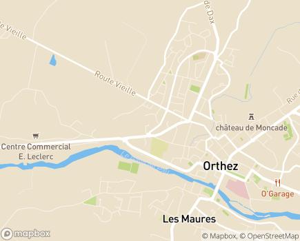 Localisation Domitys Les Clés d'Or - Résidence avec Services - 64300 - Orthez