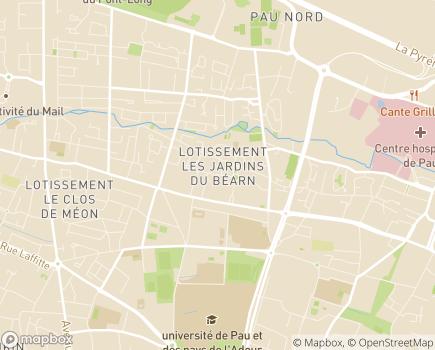 Localisation Domitys Le Palmier du Roi - Résidence avec Services - 64000 - Pau