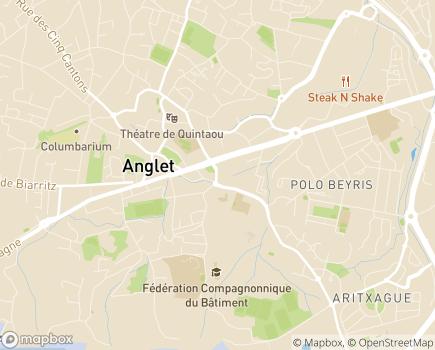 Localisation Les Jardins d'Arcadie Anglet - 64600 - Anglet