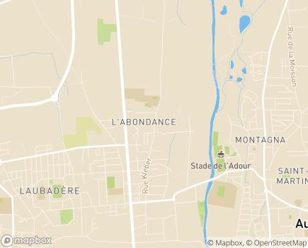 Localisation Résidence avec Services Les Girandières - 65000 - Tarbes