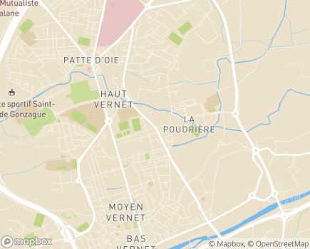 Localisation SSIAD Association Présence Infirmière 66 - 66000 - Perpignan