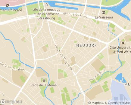 Localisation EHPAD Abrapa Neudorf - 67100 - Strasbourg