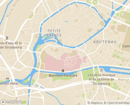Localisation EHPAD Abrapa Finkwiller - 67000 - Strasbourg
