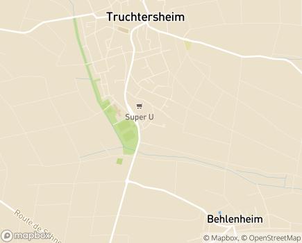 Localisation La Maison du Lendehof EHPAD - Adef Résidences - 67370 - Truchtersheim