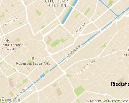 Localisation Dolcéa Résidence Le Parc des Salines II - 68100 - Mulhouse