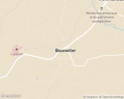Localisation SSIAD Bouxwiller - 68480 - Bouxwiller