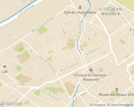 Localisation Association des Parents et Amis des Personnes Handicapées Mentales - 68200 - Mulhouse