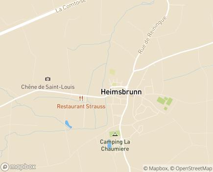 Localisation EHPAD Résidence Sainte Anne - 68990 - Heimsbrunn
