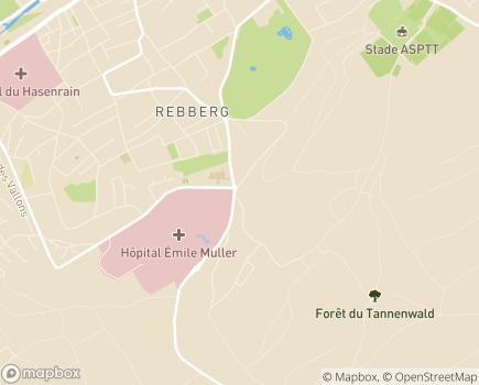 Localisation Handicap Services ALISTER - 68100 - Mulhouse