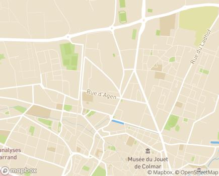 Localisation HAD Centre Alsace - 68000 - Colmar