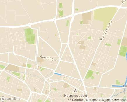 Localisation Aidhom - 68000 - Colmar