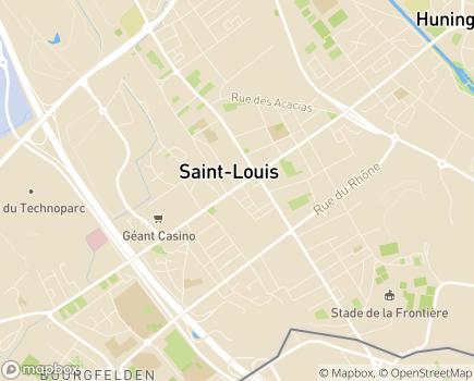 Localisation SSIAD ALSID Saint-Louis - Service de Soins Infirmiers A Domicile Saint-Louis - 68300 - Saint-Louis