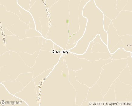 Localisation Centre Médical de Bayère - 69380 - Charnay