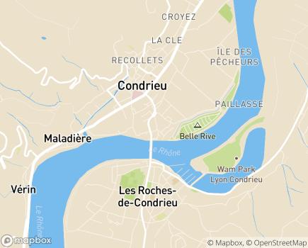 Localisation Maison d'Enfants Le Port - 69420 - Condrieu
