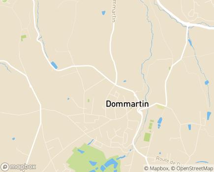 Localisation Centre d'Education Motrice Jean-Marie Arnion - 69380 - Dommartin